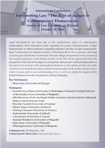 frajer-interpreting-law-the-role-of-judges-in-contemporary-democracies