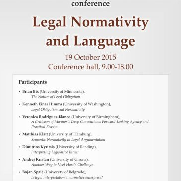 Legal Normativity and Language