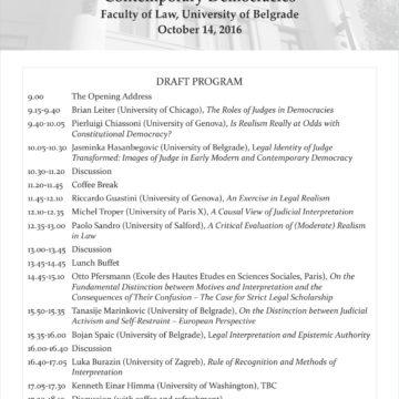 Program godišnje konferencije