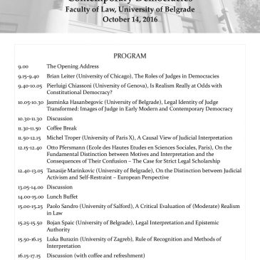 Program of Annual Conference