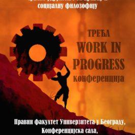 Treća Work in Progress konferencija