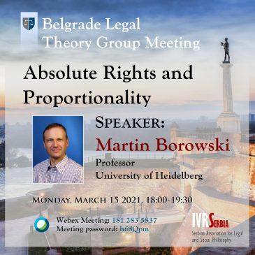 Martin Borowski, Absolute rights and Proportionality